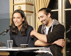 Jonas Hassen Khemiri och Hamadi Khemiri.