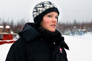 Anna Swenn-Larsson slutade 21:a i VC-slalomen i Kranjska Gora.