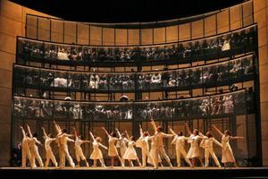 """Orfeus och Eurydike"" visas i kväll i Bräcke.Foto: Marty Sohl/Metropolitan Opera"
