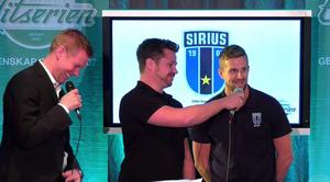 Robert Tennisberg, Olle Gabrielsson och Lars Fall.