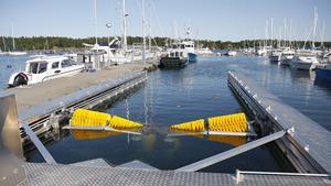 En båtbottentvätt finns sedan 2016 i Nynäshamns kommun. Foto: Emelie Risberg Hellström/Nynäshamns-Posten