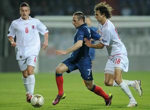 Franck Ribéry, Bayern München. Luxemburg–Frankrike, EM-kval 25 mars 2011, 0–2.         Gerson om Ribéry: