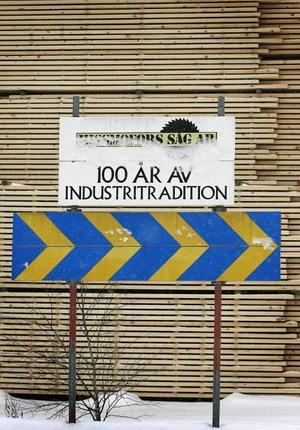 Hissmofors har 100-åriga anor som länets trämetropol.