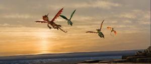 """""""Draktränaren"""" visar upp flygande drakar i tre dimensioner."""