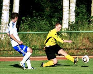 Ante Persson och hans ABK 2 tog tre poäng mot Iggesund.