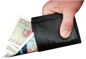 Mer kvar i plånboken. Människor med försörjningsstöd ska enligt flera förslag under en tid få behålla delar av bidraget när de tjänar mer egna pengar.foto: scanpix