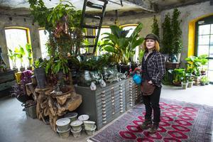 Erika Henriksson har renoverat lokalen så att känslan och mystiken ska finnas kvar i rummen.