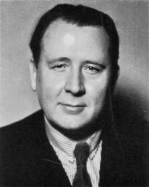 Den kulturkonservative socialdemokratiske ecklesiastikminister Arthur Engberg 1937.