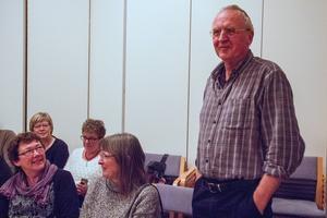 Svågadalsvalets vinnare blev Helmuth Klingenberg, här med hustrun Viveca, samt Eva Edström, som fick flest röster.