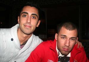 Tabazco. Mattias och Angelo