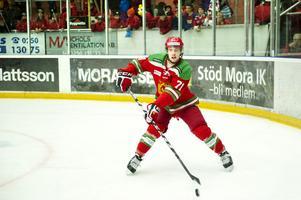 I sin tionde allsvenska match för Mora IK fick Anthony Guttig göra sitt första mål för sitt nya lag.