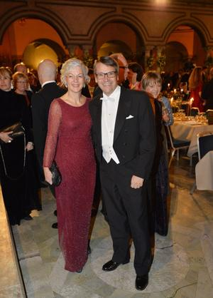 Socialminister Göran Hägglund med fru Karin Hägglund.