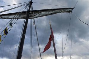 Skeppet är trots sitt yttre modernt utrustat med elektricitet och