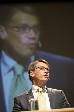 Ingen statlig storebror. Göran Hägglund och Kristdemokraterna vill ha mindre klåfingriga politiker.foto: scanpix
