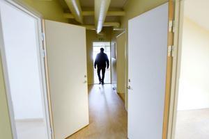 Övervåningen på Husaren i teknikparken står tom. Men duger det som studentboende?