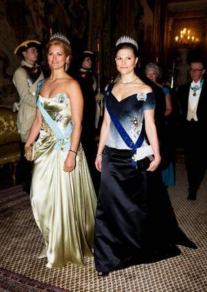 Galamiddagar och representation hör till en prinsessas vardag.