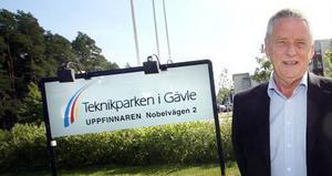 Stefan Klahr, vd för Gävle teknikpark, hävdar att e-posten inte är relevant.