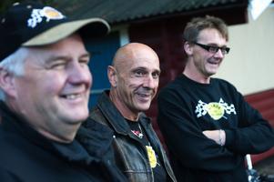 Björn Vestman, Lars Forsström och Ulf Pennonen ser fram emot att få träffa både nya och gamla vänner i helgen.