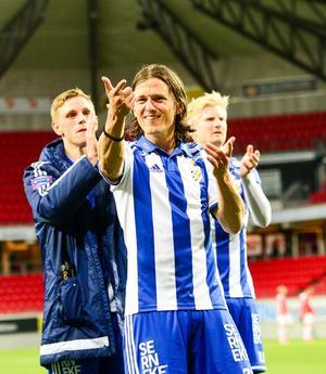 IFK Göteborgs skyttekung Lasse Vibe.