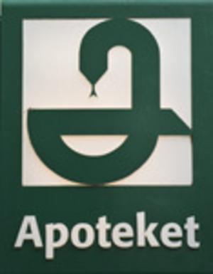 Gamla symbolen blir kvar hos de apotek som drivs i statlig regi.