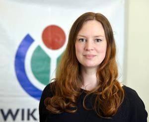 Sara Mörtsell, ursprungligen från Bollnäs, är utbildningsansvarig på Wikimedia Sverige.