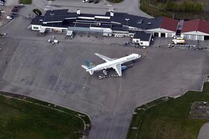 Flyget mellan Västerås och Malaga skulle kunna utökas, anser debattören. Foto: Peter Krüger/arkiv