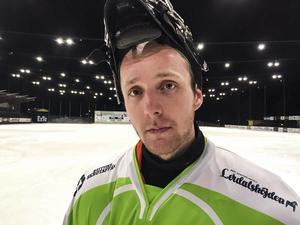 Jimmy Svensson, kapten i IFK Rättvik: