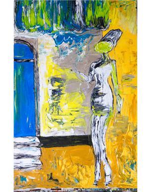 Måleri av Gävlekonstnären Igor Knez visas i ny utställning på Galleri K.