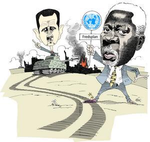 Kofi Annan försökte medla i konflikten i Syrien.