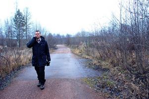 Enhetschef Martin Clarstedt, Rättviks kommun Miljö- och byggenhet i Sågenområdet, Vikarbyn.