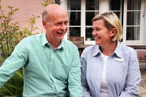 Miljöpartisten Kåge Wallner kommer att samarbeta mycket med Centerpartiets Caroline Schmidt om han blir vald.