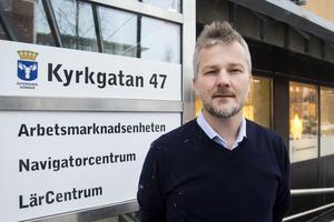 Magnus Andersson, rektor vid Lärcentrum.