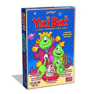 Yoli Boli – a space yoghurt card game.