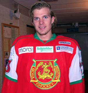 Viktor Amnér var 20 år när Mora senast vann tio raka matcher i Hockeyallsvenskan.