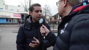Salem Lebnagia trivs bra i Borlänge och tycker att människorna i staden är snälla.