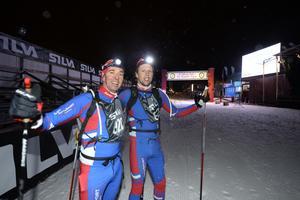 Staffan Larsson och Adam Johansson klarade av de nio milen på under 4.30.