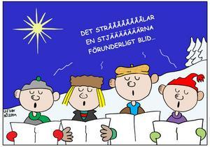 """JULGRUPP. Gävlemusikern Ruben Liljefors finstämda visa """"När det lider mot jul"""" är en av våra mest älskade körsånger. Och den har spelats in på skiva av operasångare, popartister och              dansband."""