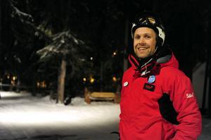 Fredrik Ryden, eventansvarig Skistar Sälen ser den belysta Trollskogen som en åkupplevelse.