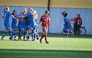 Sunnanå SK har stärkt sin andraplats i Norrettan, medan KIK:s chanser att nå Damallsvenskan grusats.