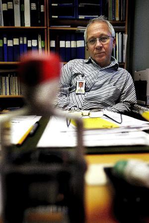 Lars Berglund, medicinsk rådgivare inom primärvården Västernorrland.