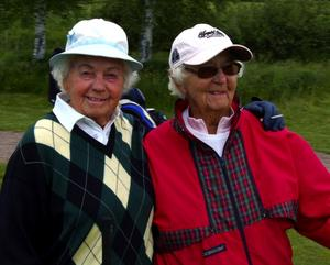 Har alltid roligt. Systrarna Tusse Blomberg och Karin Dahlström.