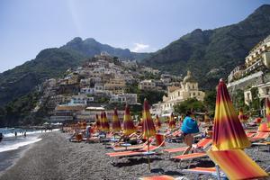Positano är drömlikt vackert.