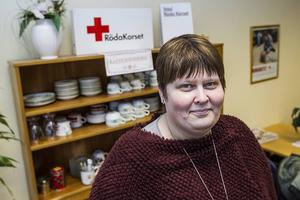 Åsa Älander från Röda Korset i Ljusdal deltar i politikerveckan i Almedalen.