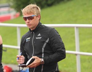 Johan Hagström är numer ensam förbundskapten.