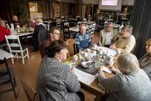 På lördagen arrangerades DöBra Café för att ge plats och tid för samtal och reflektion om det som är viktigt i livet.
