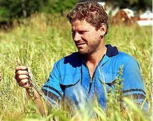 Stig  Högberg är själv jordbrukare och ordförande för Norrskog.