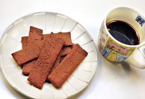 En riktigt mör, men ändå knaprig kaka till kaffet. Kan det bli bättre?