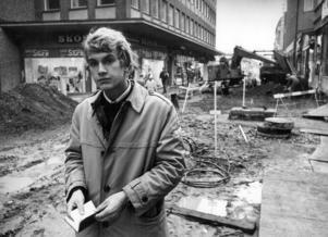 Denna bild togs 1970, men annars finns inga uppgifter om den i ÖP:s arkiv. Är det någon av våra läsare som känner igen mannen på bilden?