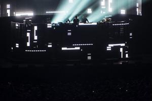 Swedish House Mafia under torsdagskvällen.