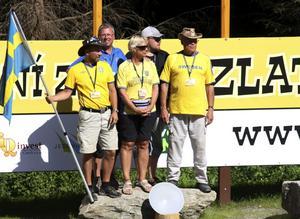 Kopparbergs guldvaskare tog hem ett VM-silver vid tävlingarna i Zlate Hory, Tjeckien.